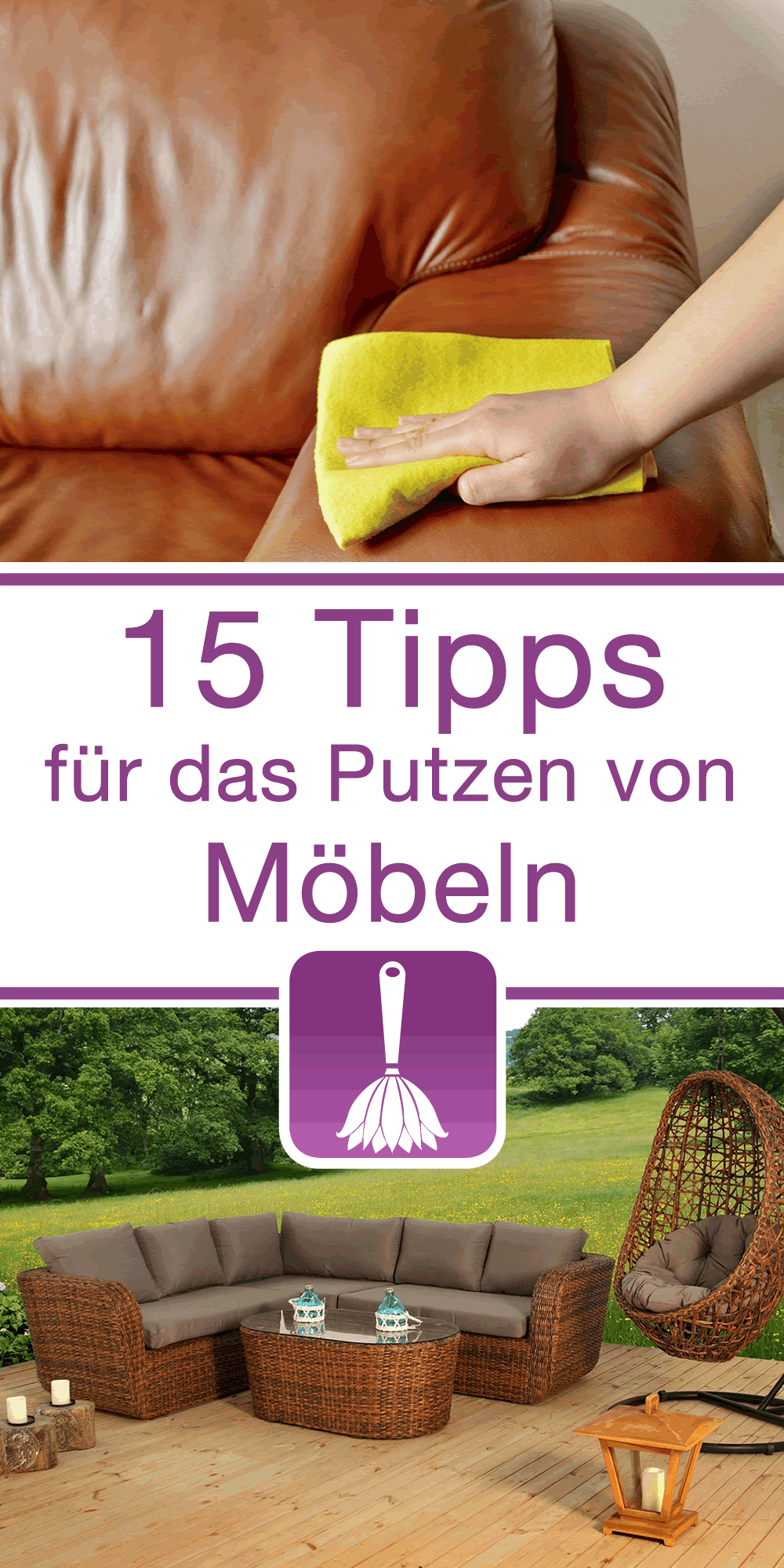 15 tipps tricks f r das putzen von m beln. Black Bedroom Furniture Sets. Home Design Ideas