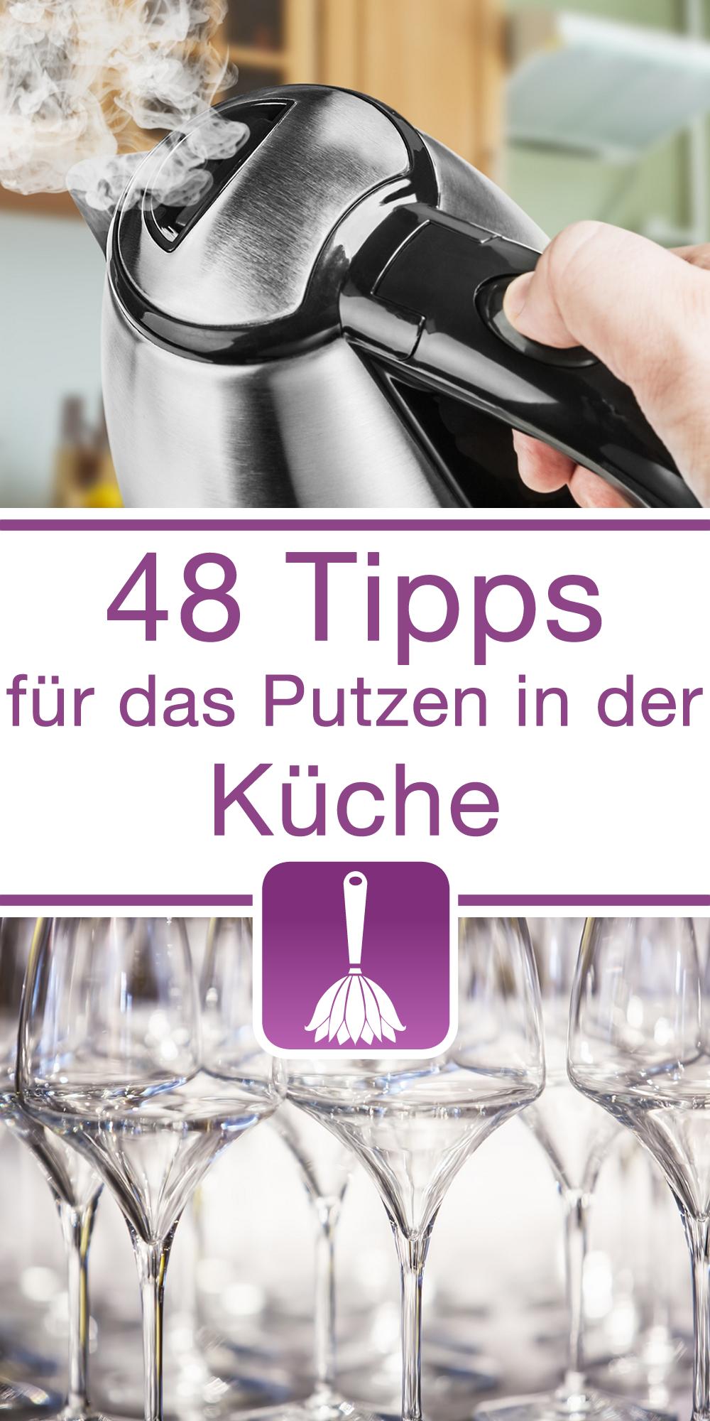 48 tipps tricks f r das putzen in der k che wasserkocher putzen - Kalk entfernen wasserkocher ...