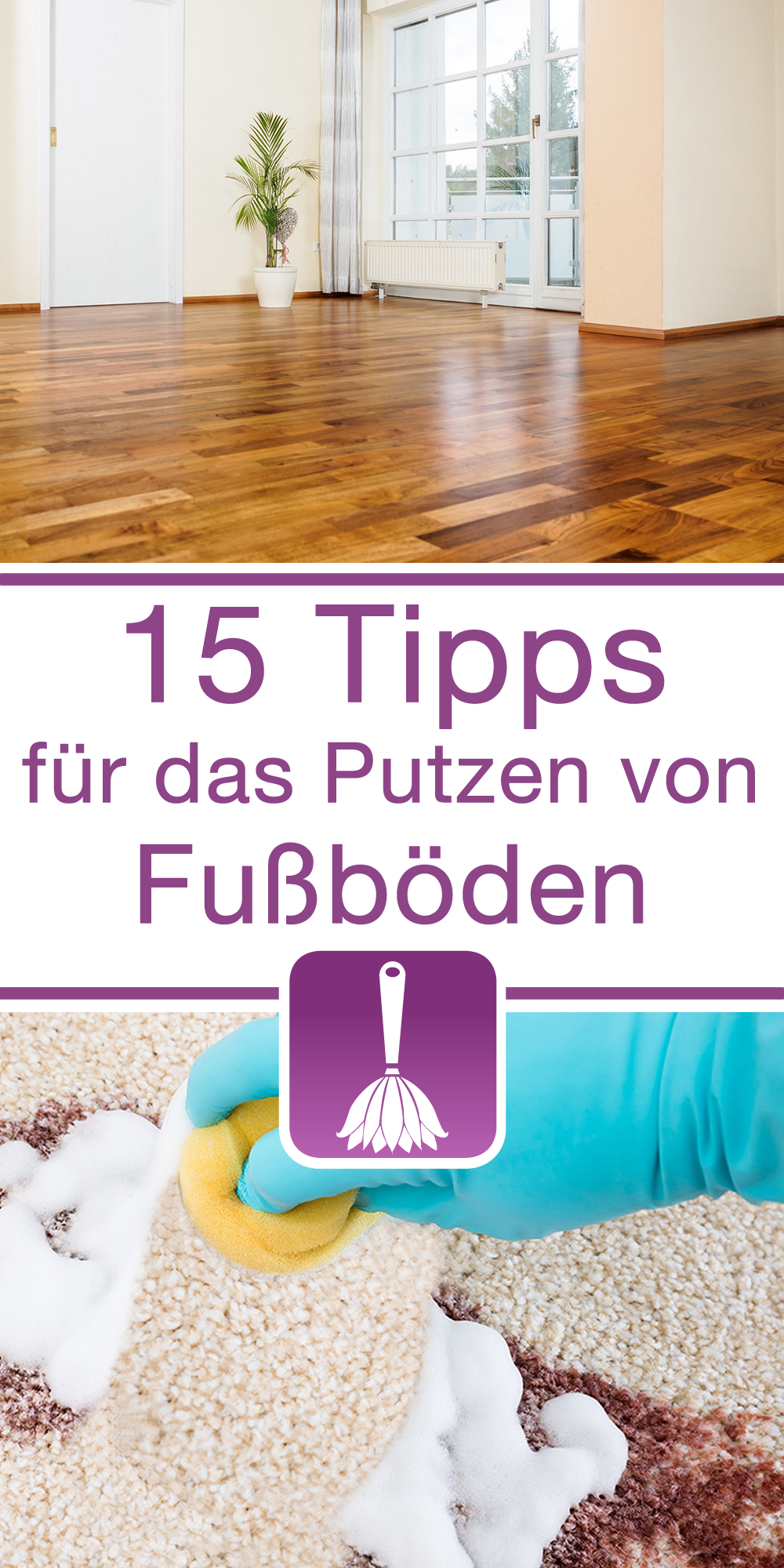 15 tipps tricks f r das putzen von fu b den. Black Bedroom Furniture Sets. Home Design Ideas